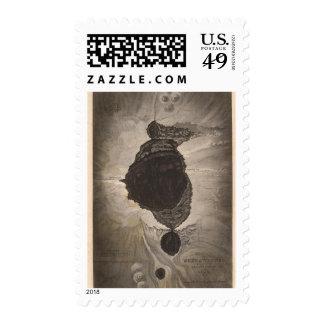 Crater of Mokuaweoweo, Mouna Loa, Hawaii Stamp