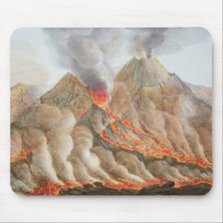 Crater of Mount Vesuvius from an original drawing Mouse Pad