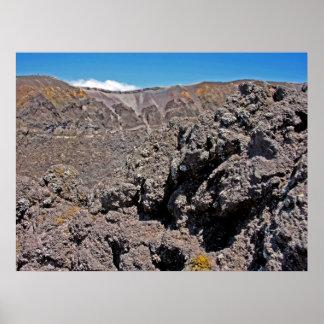Crater of Mt.Vesuvius(1) Poster