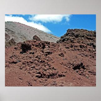 Crater of Mt. Vesuvius(2) Print