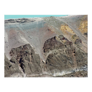 Crater of Mt.Vesuvius(4) Posters