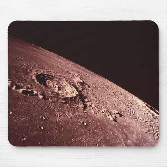 Crater on the Moon Mouse Pad