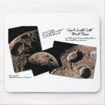 Cráter triple tapetes de raton