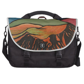 cratered landscape bags for laptop