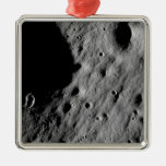Cratered regions christmas ornaments