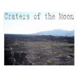 Cráteres de la luna, Idaho Tarjetas Postales