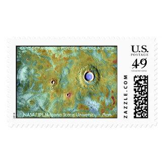 Cráteres del pedestal de la NASA Marte en Utopía Envio
