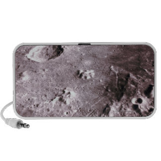 Cráteres en la luna iPhone altavoz