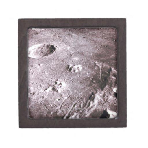 Cráteres en la luna cajas de regalo de calidad
