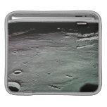 Cráteres en la luna manga de iPad