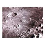 Cráteres en la luna postales
