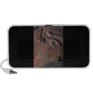 Cráteres grandes laptop altavoz