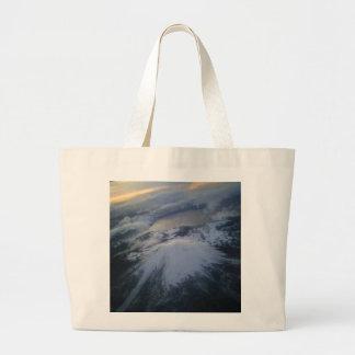 craterlake large tote bag