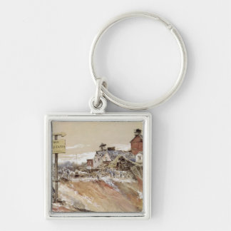 Craters at Ham-Saint-Quentin Keychain