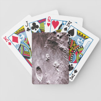 Craters on the Moon Bicycle Playing Cards