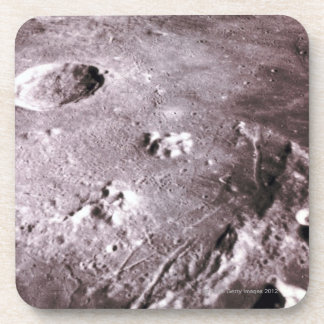 Craters on the Moon Drink Coaster