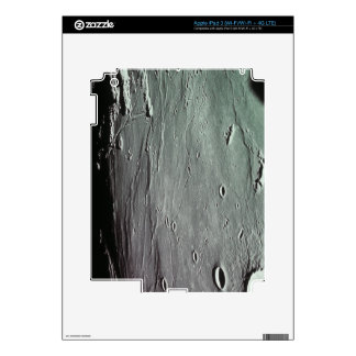 Craters on the moon iPad 3 decals
