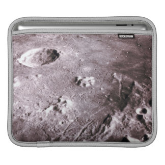 Craters on the Moon iPad Sleeve