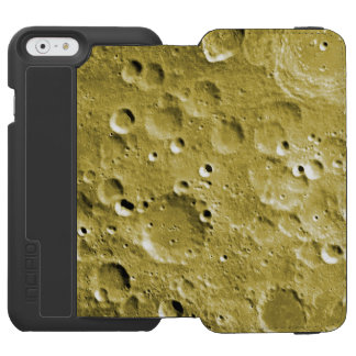 Craters on the moon iPhone 6/6s wallet case