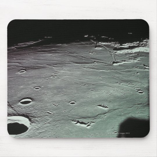 Craters on the moon mouse pad