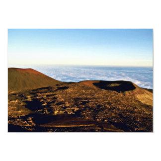 "Craters On The Road To Maleakala - Hawaii 5"" X 7"" Invitation Card"