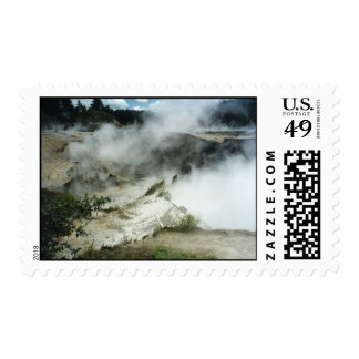 Craters Postage Stamps