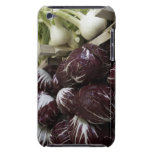 Crates of red cabbages and fennel iPod touch case