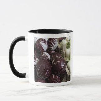 Crates of red cabbages and fennel mug