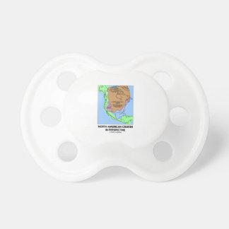 Cratón norteamericano en perspectiva chupetes para bebes