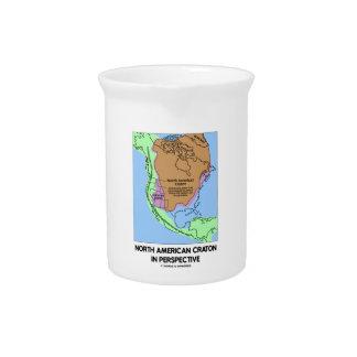 Cratón norteamericano en perspectiva jarra
