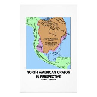 Cratón norteamericano en perspectiva papeleria