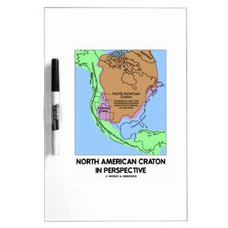 Cratón norteamericano en perspectiva pizarra