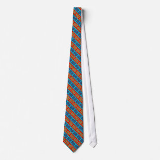 cravatte red and blue tie
