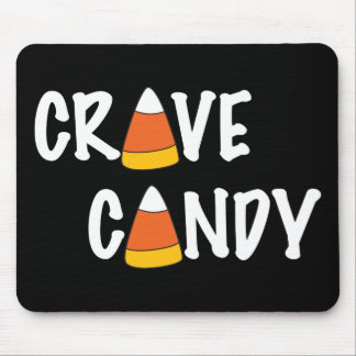 Crave Candy - Halloween Candy Corn Mouse Pad