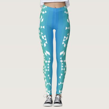Crave Leggings, logo triangles Leggings