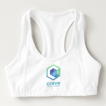 Crave Sports Bra, Customize QR Sports Bra