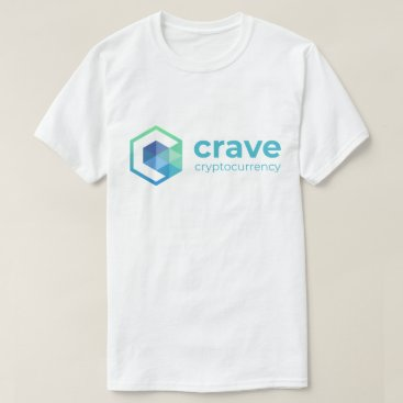 Crave TShirt, logo horizontal front, vertical back T-Shirt