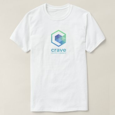 Crave TShirt, logo vertical front, horizontal back T-Shirt