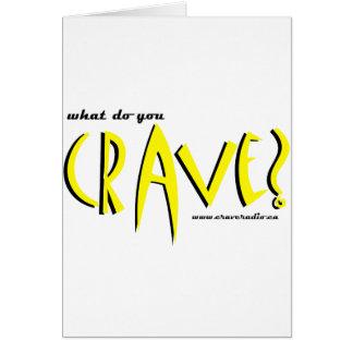 cravedesign1 yellow card