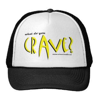 cravedesign1 yellow trucker hat