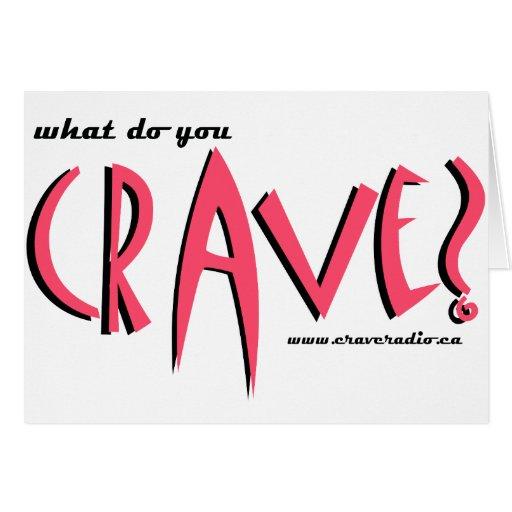 cravedesignpink card