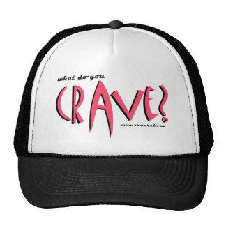 cravedesignpink trucker hat