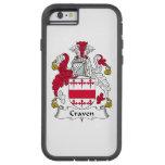 Craven Family Crest Tough Xtreme iPhone 6 Case