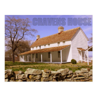 Cravens House - Lookout Mountain, Chattanooga, TN Postcard