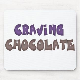 Craving Chocolate Mousepad