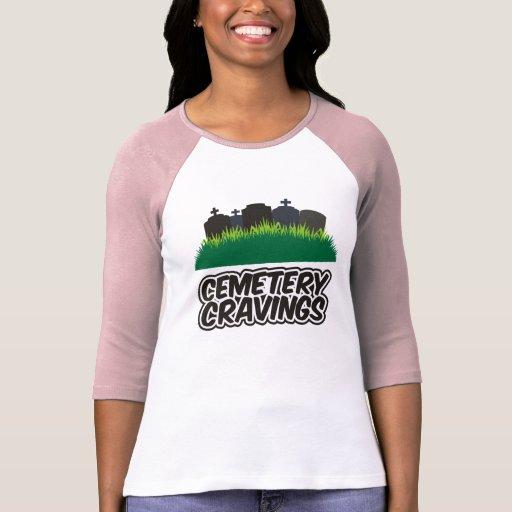 Cravings del cementerio playera