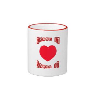 Cravings Ringer Coffee Mug
