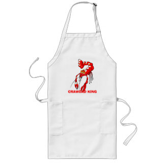 Crawdad King Long Apron