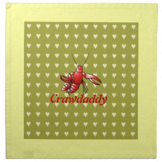 Crawdaddy Crayfish Napkins