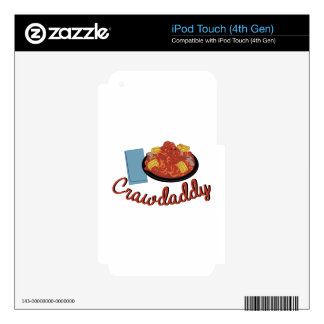 Crawdaddy Meal Skins For iPod Touch 4G